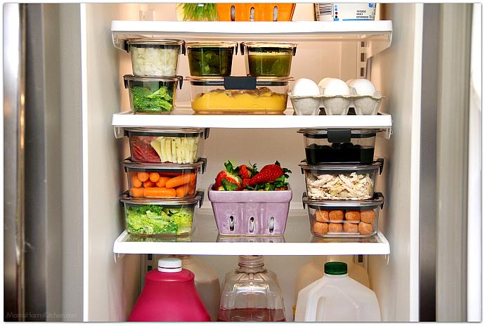 хранение готовой еды в холодильнике