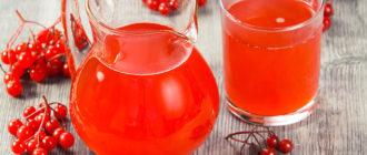 сок из калины