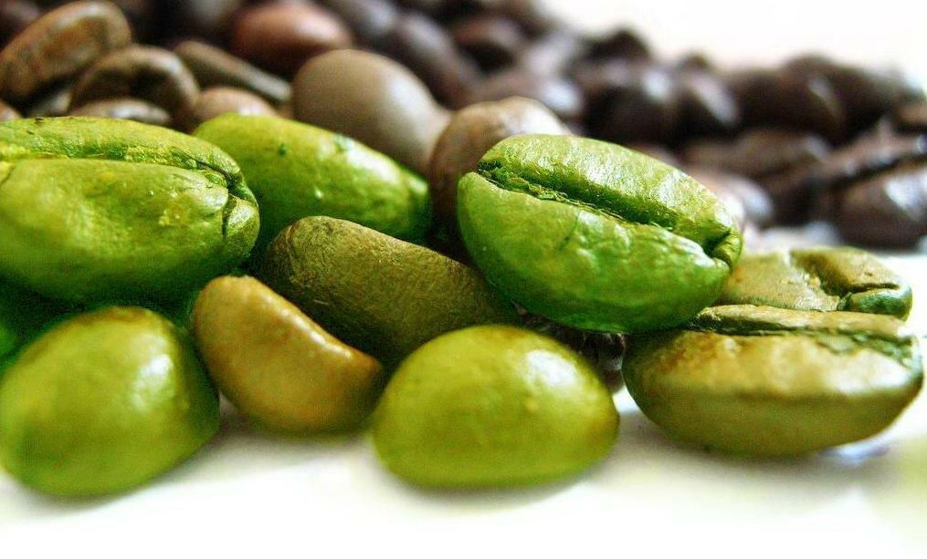 Сырые зерна (зеленый кофе)